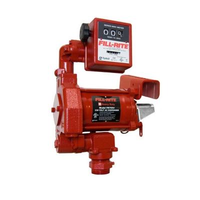 230V Benzinpumpe ATEX - manuelles Zapfventil - Schlauch - 70 l/min