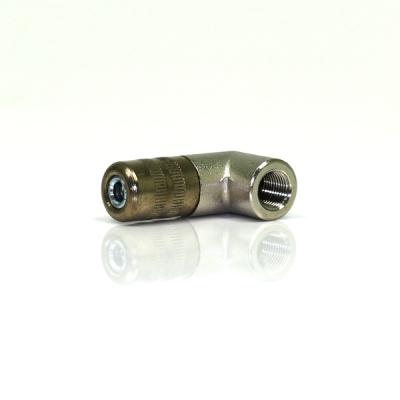 4-Backen-Hydraulikmundstück - 90° Bogen - M 10x1