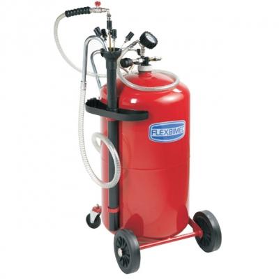 Fahrbares Altölabsauggerät - 80 L Behälter - Sonden