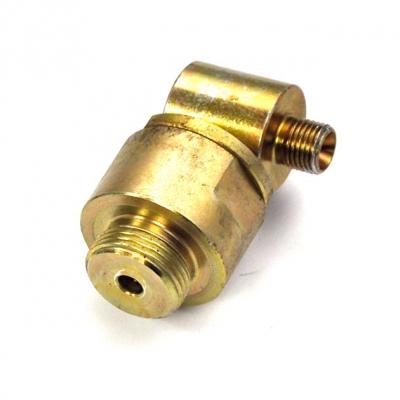 Drehgelenk - 90° - 3 mm - 1/4 AG - 900 bar