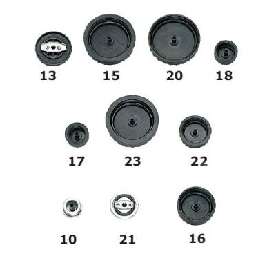 Adaptersatz - für PKW und LKW - 10 Stück