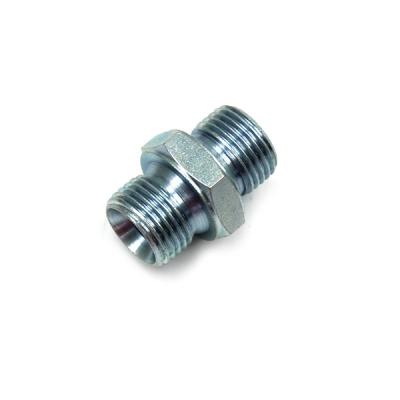 Doppelnippel - 1 - rostfreier Stahl