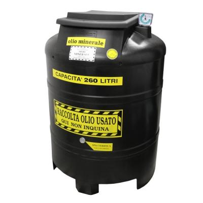 Altölsammeltank - doppelwandig - 260 Liter