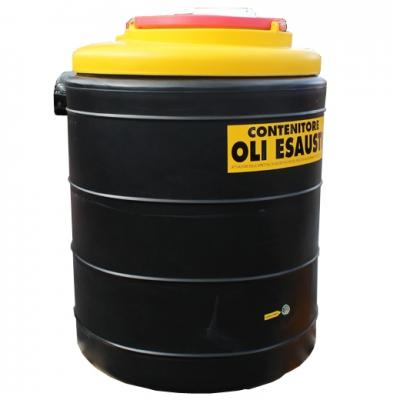 Altölsammeltank - doppelwandig - 500 Liter