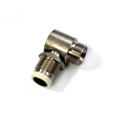 Drehgelenk - 90° - Ø 22mm - 1 AG - V4A