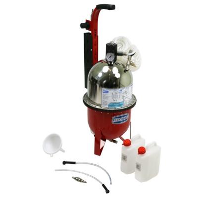 Bremsentlüftungsgerät - Druckluft - 9 Liter - stationär