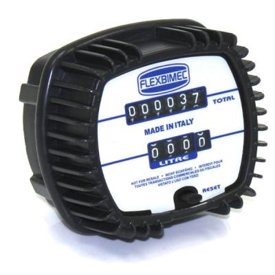 Durchflussmesser - Mechanisch - Ovalrad - für Öl - 50 bar