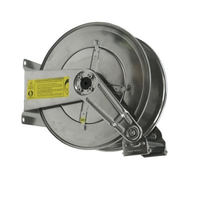 Schlauchhaspel - Edelstahl AISI 304 - für max. 10 Meter - 3/4 Schlauch