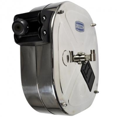Schlauchaufroller - Edelstahl - Diesel - 10mm Drehgelenk
