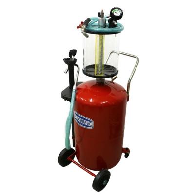 Fahrbares Altölabsauggeräte - Auffangbehälter 80 L - Schauglas