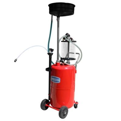 Fahrbares Altölauffang- / Altölabsauggerät - Glasmesszylinder - 70 L