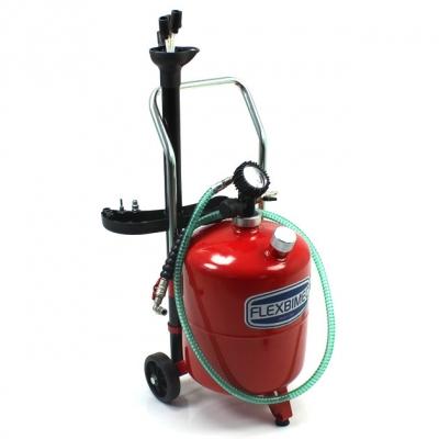 Fahrbares Altölabsauggerät 24L - Druckluftentleerung