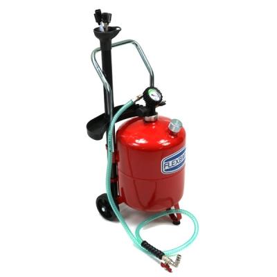 Fahrbares Altölabsauggerät - manuelle Entleerung