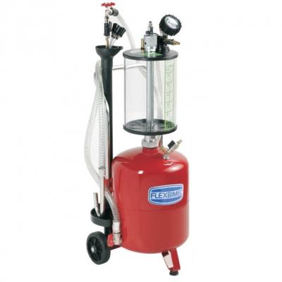 Fahrbares Altölabsauggerät - Auffangbehälter 24 L - Schauglas