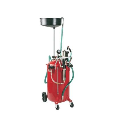 Fahrbares Altölauffang- / Altölabsauggerät - Auffangtrichter - 80 L Behälter