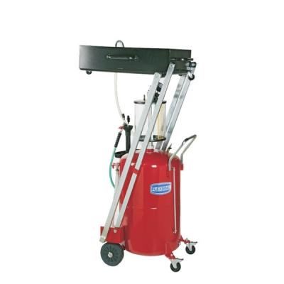 Fahrbares Altölauffang- / Altölabsauggerät - 10 L Auffangwanne - 80 L Behälter