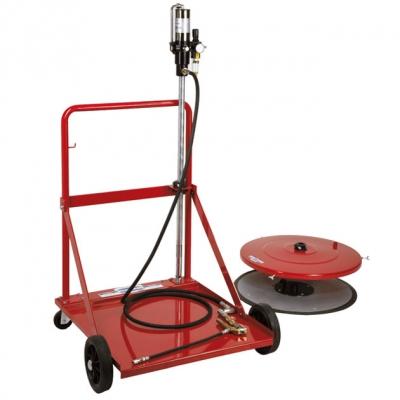 Fettförderset - für 200 kg Gebinde - 400 bar - 2400 g/min.