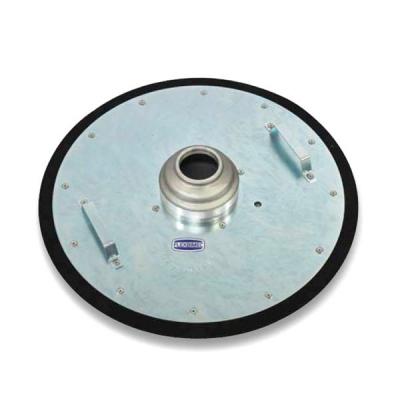 Fettfolgedeckel - Ø 600 mm - mit 70 mm Rohröffnung