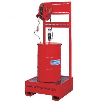 Fettsystem - Schlauchaufroller - für 200 kg Gebinde - 2400 g/min.