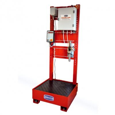 Mischanlage für Flüssigkeiten - 230 V - Montageplatte inkl Auffangbehälter
