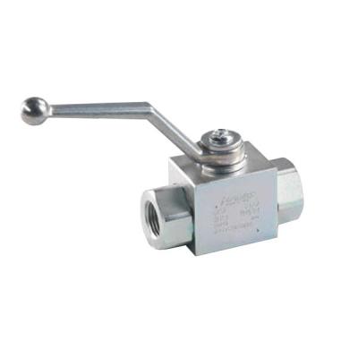 Kugelhahn - für Hochdruckanwendungen - Beidseitig 1/4 BSP IG - 500 bar