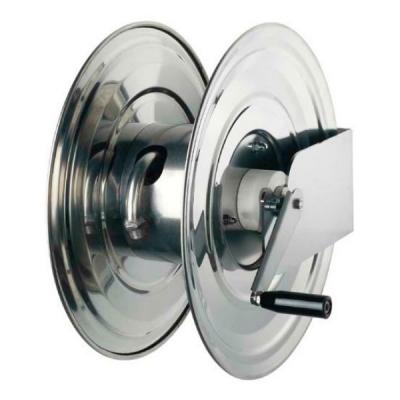 Schlauchaufroller - manuell - aus rostfreiem Stahl - für 1/2 Schlauch