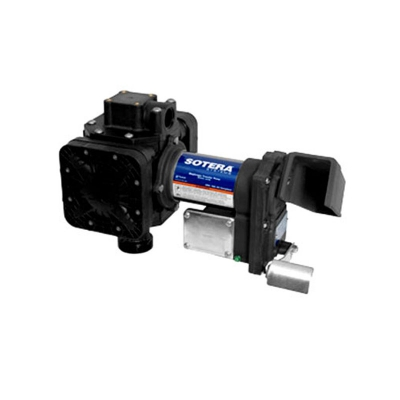 Membran-Benzinpumpe mit manueller Zapfpistole  50 l/min 3,5 bar