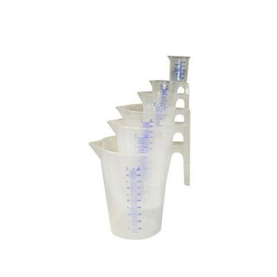 Messbecher - 0,25 Liter - Transparent