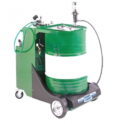 Mobile Ölstation - Glasmesszylinder - Sonden