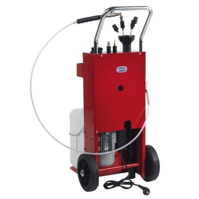 Mobiles Altöl-Abgabeset - mit Zahnradpumpe - 230 VAC - für Öl und Diesel
