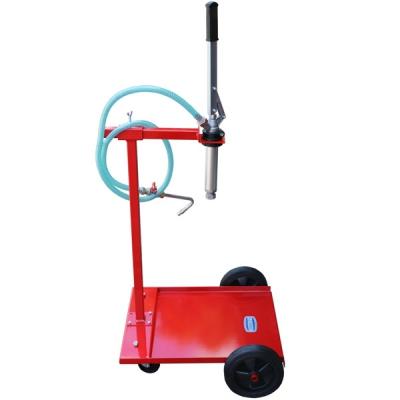 Mobiles Ölabgabegerät - für 60 L Fässer - Handpumpe