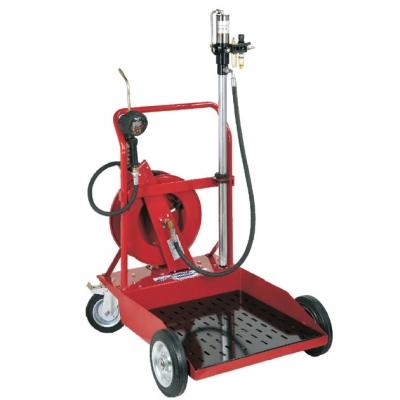 Ölabgabe Set - Schlauchaufroller - für 200 L-Behälter - 23,7 l/min.