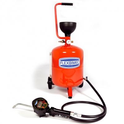 Ölfördergerät - 24 L-Behälter - Durchlaufzähler