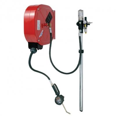 Ölpumpe - mit Druckluft - Ölabgabe Set - 15 m. Schlauch