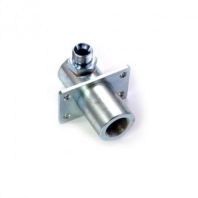 Schlauchanschluss - Feuerverzinkter Stahl - Ø 12mm