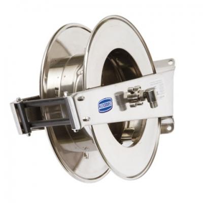 Schlauchaufroller - aus Edelstahl AISI 304 - 150 mm Trommel