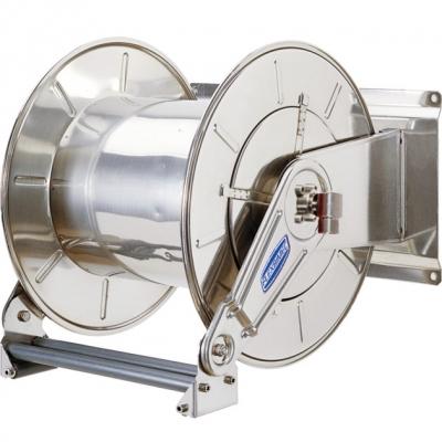 Schlauchaufroller - aus Edelstahl - für max. 20 m Schlauch - 1 1/4