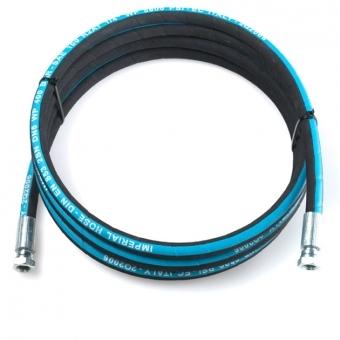Schlauchleitung - 2m - 3/4 - 105 bar - Öl und Diesel