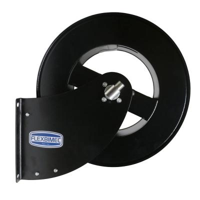 Schlauchaufroller - ohne Schlauch - für 50m Schlauch - 1/4 - schwarz