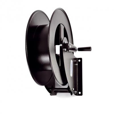 Schlauchaufroller - schwarz - ohne Schlauch - für 100 m Schlauch 1/4