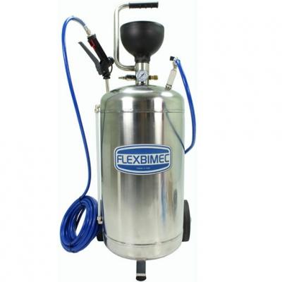 Sprüh- und Schaumgerät - 40l - mit Polyurethanschlauch - V2A
