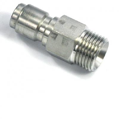 Ventil-Schnellkupplung - 3/8 AG BSP - 30 l/min