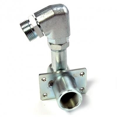 Winkel-Schlauchanschluss - Edelstahl - Ø 20 mm